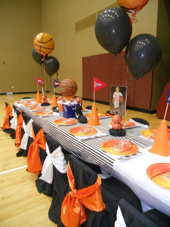 Basketball party ideas creative celebrations